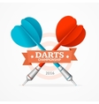 Darts Sign vector image