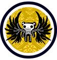 death logo vector image vector image
