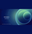 liquid color background design blue green fluid vector image