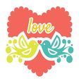 Love vector image vector image