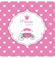 Princess Crown Background vector image