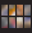 smartphone screen background collection abstract vector image
