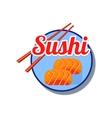 Sushi Emblem vector image