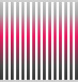 vertical pinstripes in warm color scheme vector image