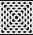 white geometric pattern on black background vector image