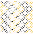 yellow and black abstract polka dots grid shapes vector image vector image