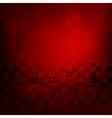 Abstract background red with basic geometry vector image vector image