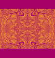 abstract psychedelic fractal pattern burgundy vector image vector image