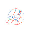 all best calligraphic 3d color line art rgb