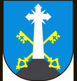Coat of arms of zakopane is a town in the extreme vector image