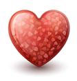 Conceptual Heart Symbol vector image vector image
