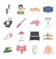 hunting education art and other web icon in vector image vector image