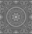 indian arabic turkish oriental mandala seamless vector image vector image