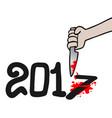 kill 2017 vector image vector image