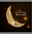 ramadan greetings vector image vector image