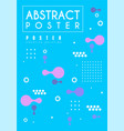 abstract poster original design creative graphic vector image vector image