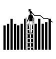 businessman success business vector image