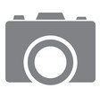camera icon vector image