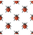 ladybug icon in cartoon style isolated on white vector image vector image