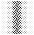 monochrome geometric halftone diagonal ellipse vector image vector image