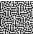 op art pattern ethnic ornamental background vector image vector image