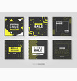 sales price tag set vector image vector image