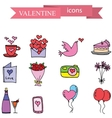 valentine element stock vector image vector image