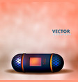 a small speaker for music vector image vector image