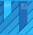 abstract background with shades blue stripes vector image