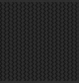 black background abstract wicker texture seamless vector image vector image