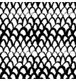 grunge fish scale hand drawn seamless pattern vector image