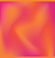 orange and pink gradient background vector image vector image