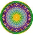 Round decorative elements vector image
