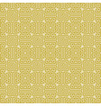 seamless traditional geometric greek gold pattern vector image