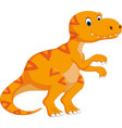 tyrannosaurus cartoon vector image
