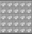 abstract pattern clover gray vector image