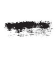 brush strokes set hand drawn grunge texture vector image
