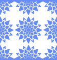 colorful seamless pattern of abstract blue vector image vector image