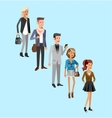 doctor character man and woman set vector image vector image