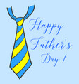 happy father day hand draw vector image vector image