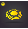 Spiral cyclone vector image