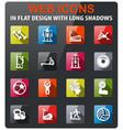 sport equipment icon set vector image