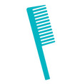 comb for hair cartoon vector image