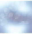 Abstract background with bokeh vector image vector image