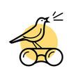 Bird watching logo