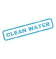 Clean Water Rubber Stamp vector image vector image