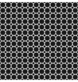 monochrome abstract geometrical halftone dot vector image vector image