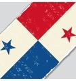 Panama grunge flag vector image vector image