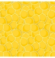 Seamless Pattern Background from Lemon vector image