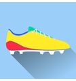 soccer shoes american vector image vector image